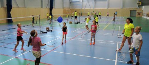 5x Pojď hrát badminton